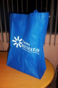 bolsa ecologica 40cm alto x 30cm ancho fuelle de 10cm