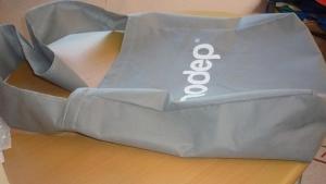 bolsa ecologica gris