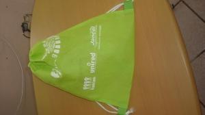 mochila o morral ecológico impreso a 1 tinta 1 cara