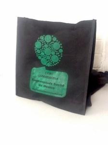 bolsas ecologicas negras impresas
