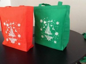 bolsas ecologicas navideñas 2014