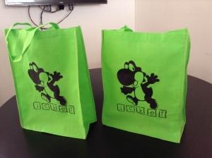 bolsas ecologicas para fiesta de niños