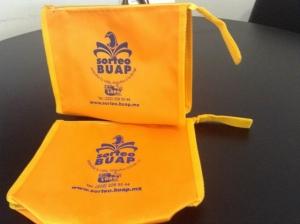 bolsa ecologica y bolsa mandadera para la BUAP
