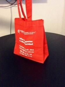 bolsas ecologicas rojas impresas septiembre 2015
