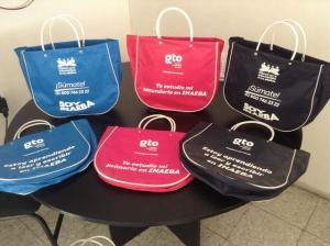 bolsas de canasta diferentes colores impresas octubre 2015