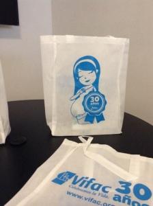 bolsas blancas impresas a una tinta azul noviembre 2015 mx