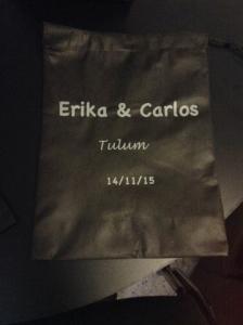 morralito o bolsa ecologica para boda noviembre 2015mx