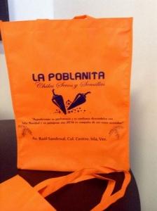bolsa ecologica naranja grande impresa