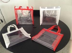 nuevo producto bolsas de cristal con poliester 2016