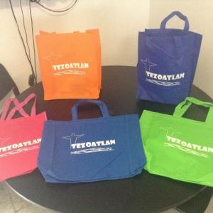 bolsas ecologicas varios colores con fuelle marzo 2016