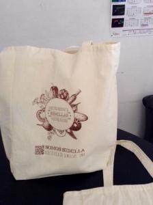 bolsas ecologicas impresas de manta cruda