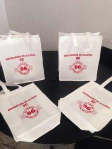 bolsas ecologicas blancas impresas Puebla