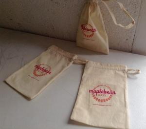 mini bolsas de manta impresas 2 tintas