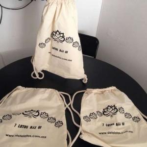 bolsa de manta no bolsas ecologicas impresas 1 tinta jareta muy gruesa mexico d.f.